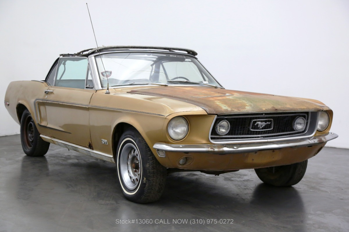 1968 Ford Mustang Convertible J-Code