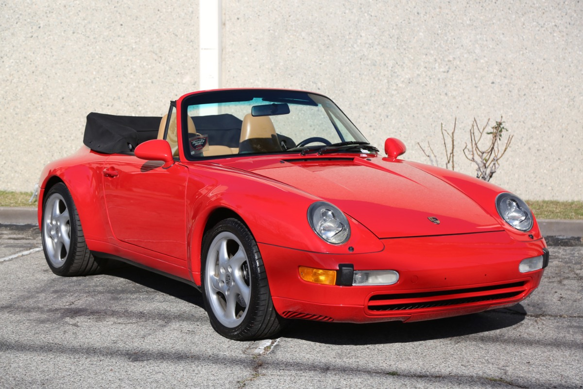 Used 1997 Porsche 993 Cabriolet | Los Angeles, CA