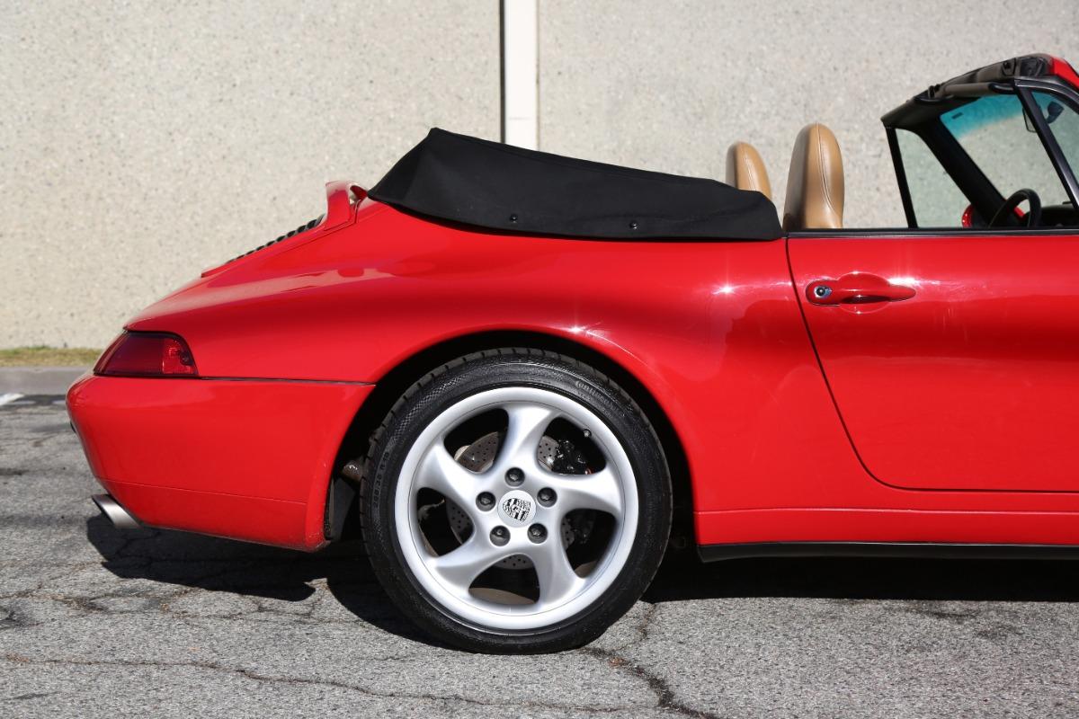 Used 1997 Porsche 993 Carrera Cabriolet | Los Angeles, CA