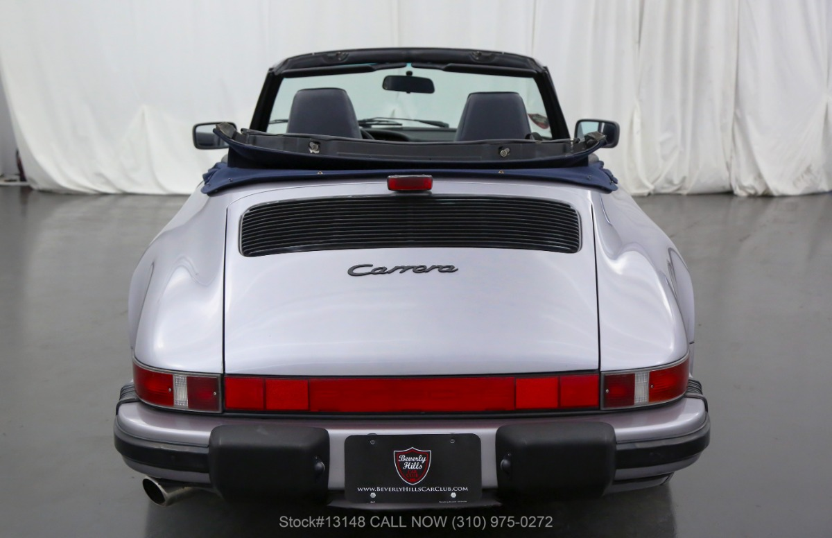 Used 1988 Porsche Carrera Cabriolet | Los Angeles, CA