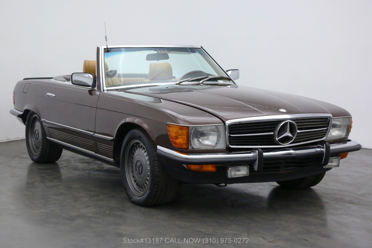 1982 Mercedes-Benz 280SL 4-Speed