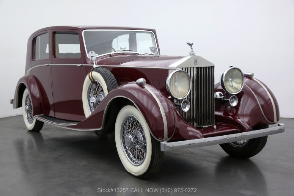 1938 Rolls Royce 25/30 Saloon with Coachwork by Park Ward