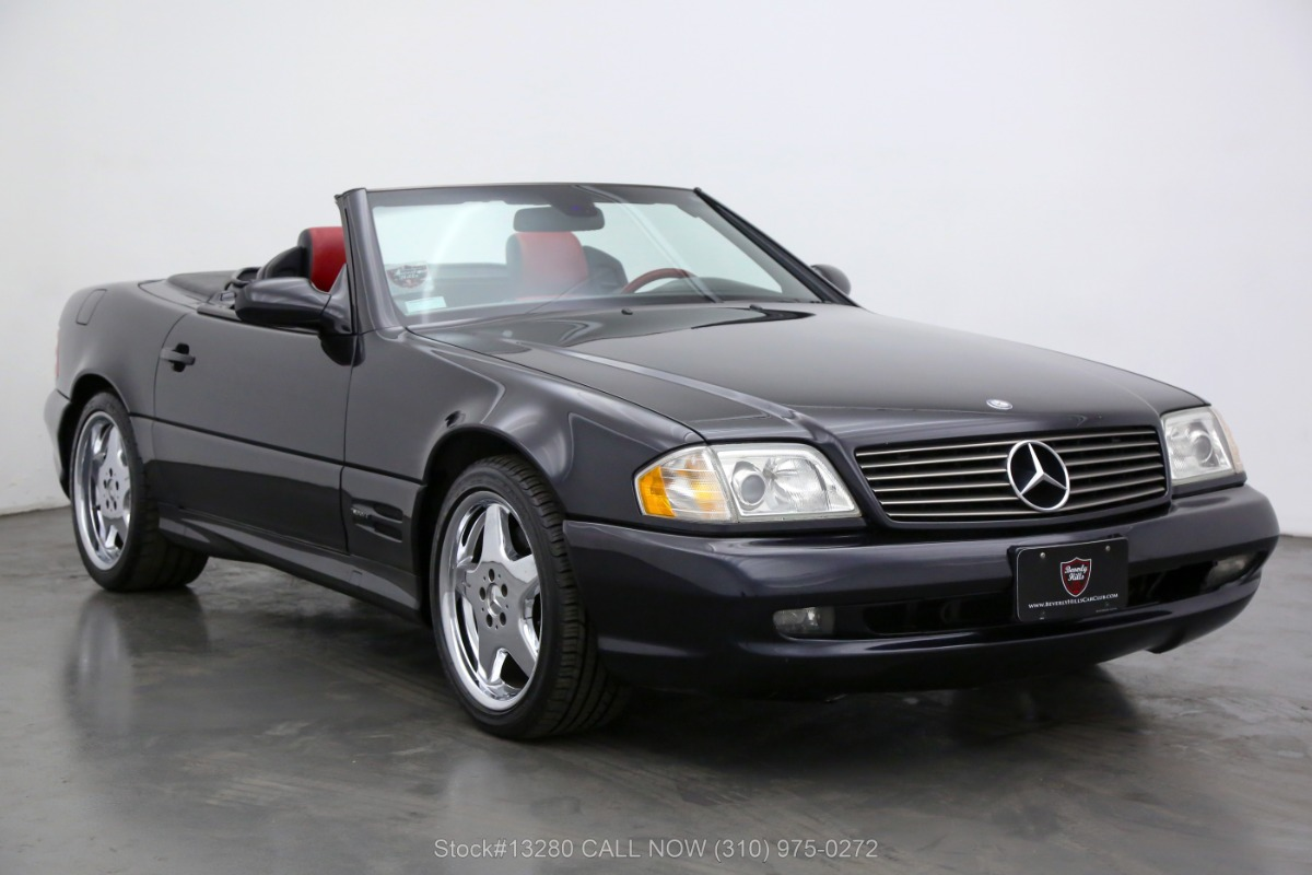 2000 Mercedes-Benz SL500 Designo Edition