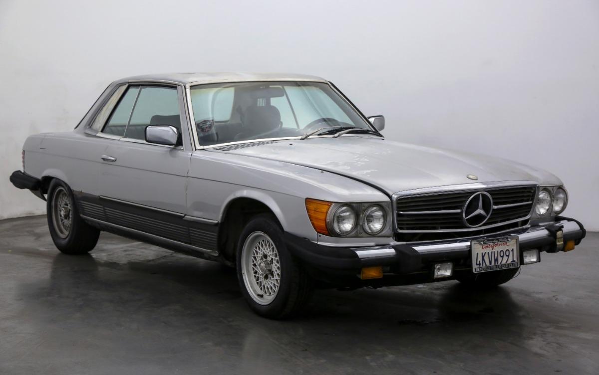 1980 Mercedes-Benz 500SLC