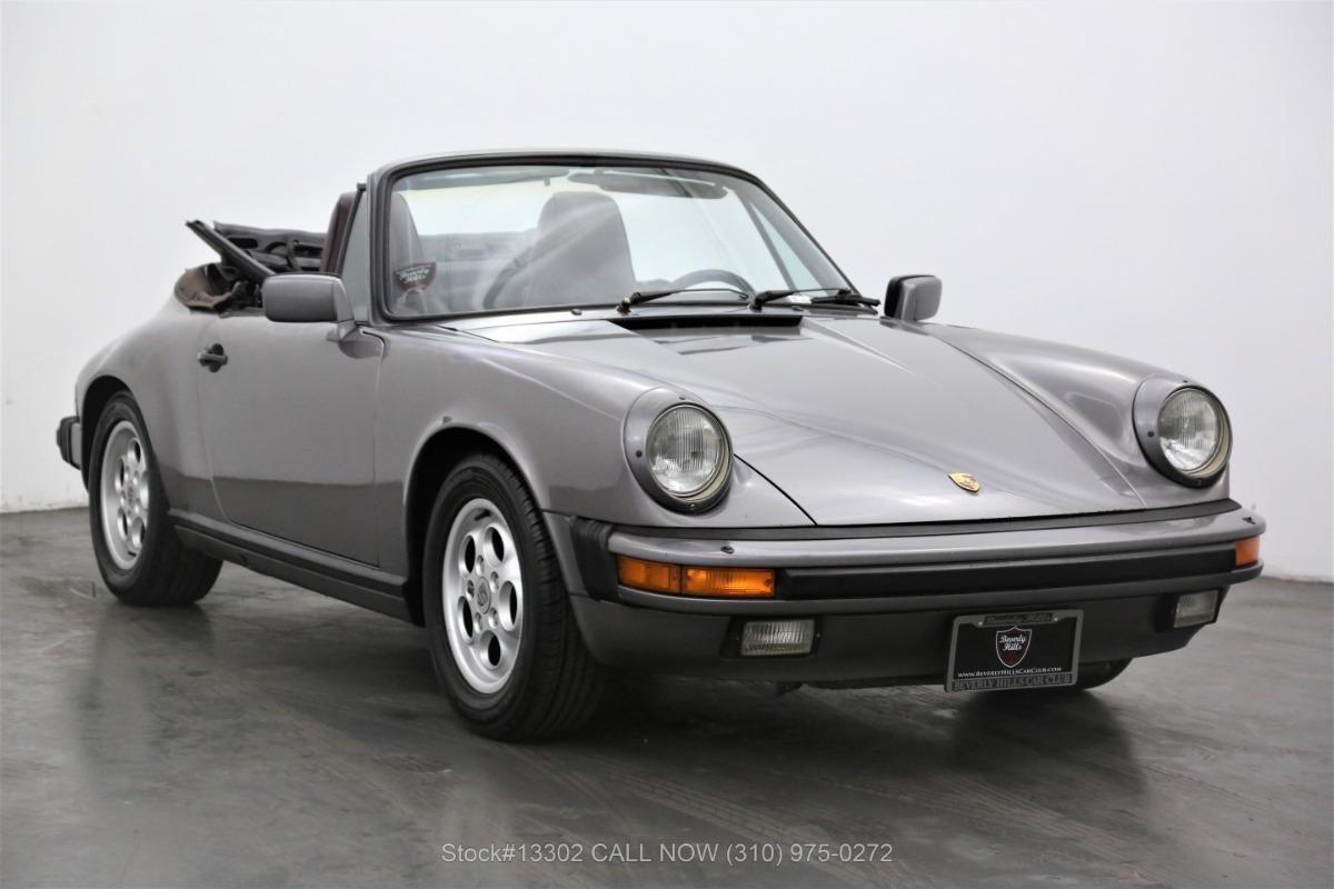 1985 Porsche Carrera Cabriolet