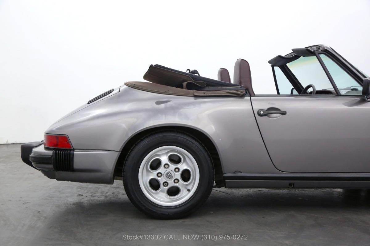 Used 1985 Porsche Carrera Cabriolet   Los Angeles, CA