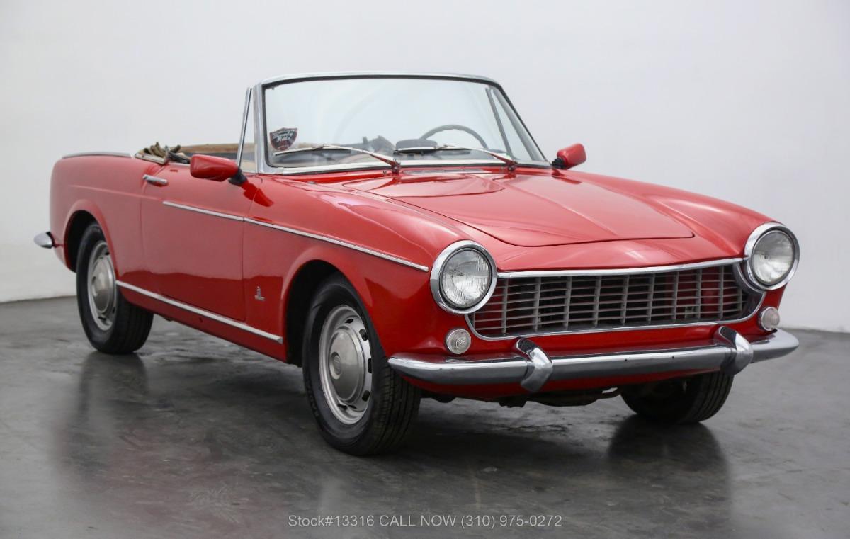 1965 Fiat 1500 Cabriolet