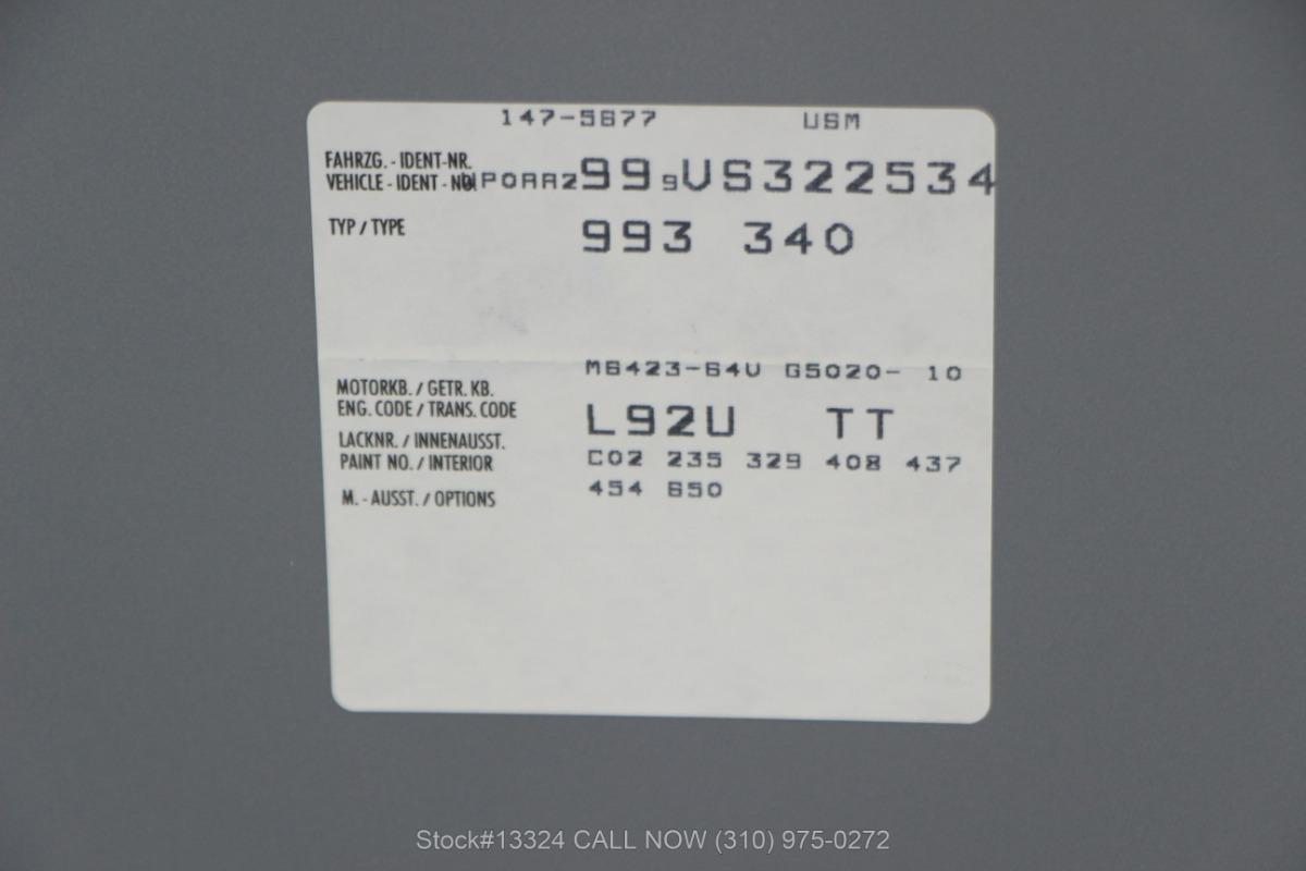Used 1997 Porsche 993 Carrera S Coupe | Los Angeles, CA