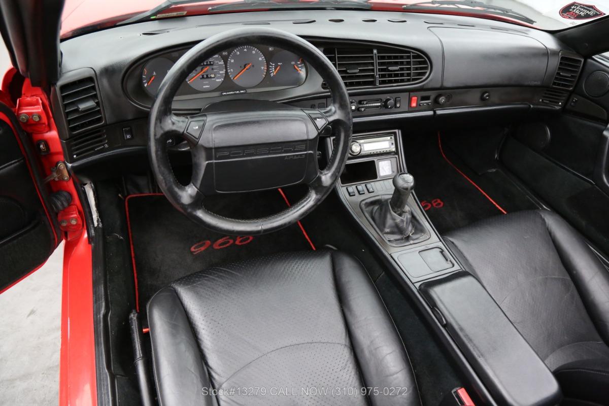 Used 1994 Porsche 968 Cabriolet 6-Speed | Los Angeles, CA