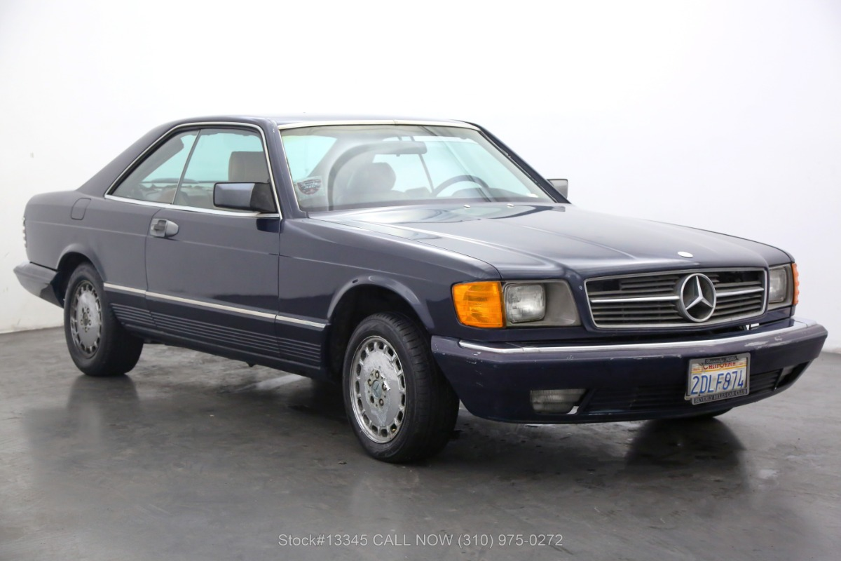 1983 Mercedes-Benz 380SEC Coupe