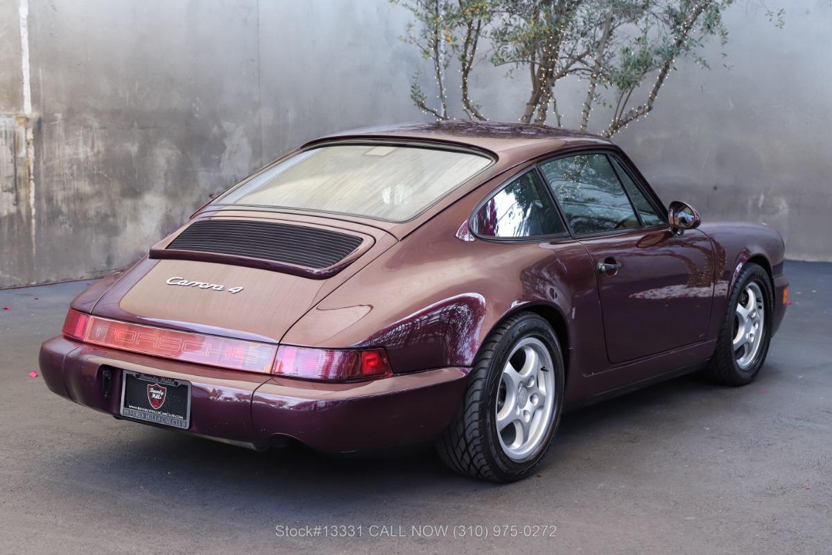 Used 1992 Porsche 964 Carrera 4 Coupe   Los Angeles, CA