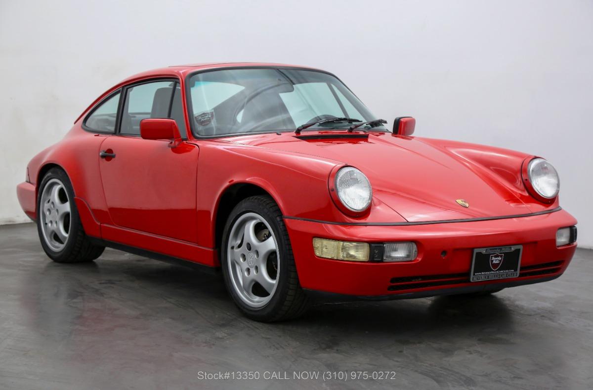 1989 Porsche 964 Carrera 4 Coupe