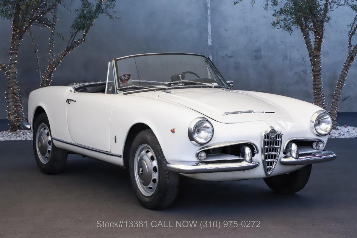 1963 Alfa Romeo Giulietta 1600 Spider