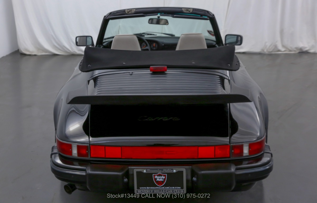 Used 1987 Porsche Carrera Cabriolet | Los Angeles, CA