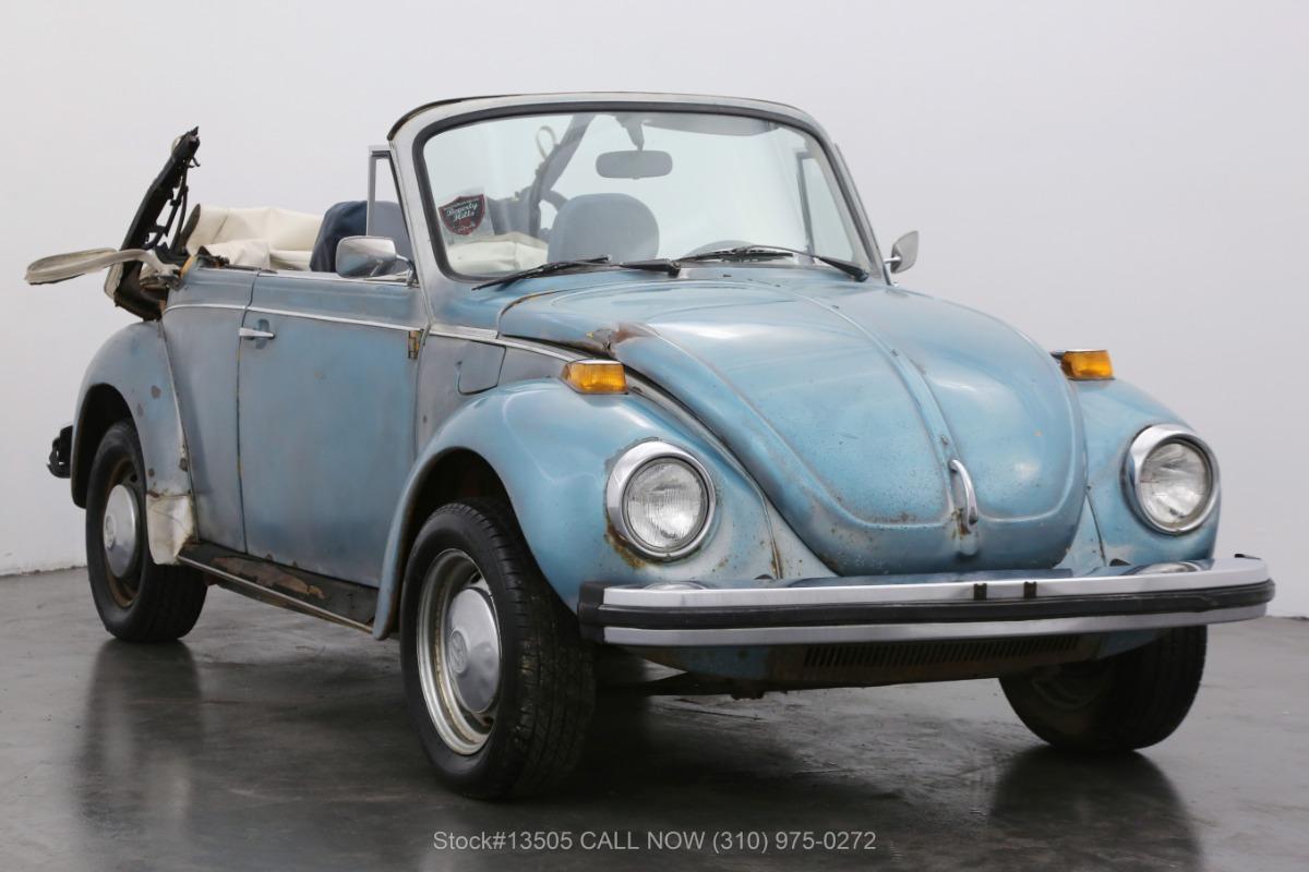1978 Volkswagen Beetle Cabriolet