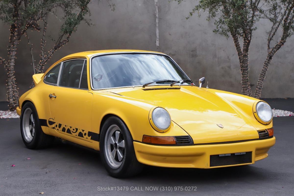 1973 Porsche 911S Sunroof Coupe RS Tribute