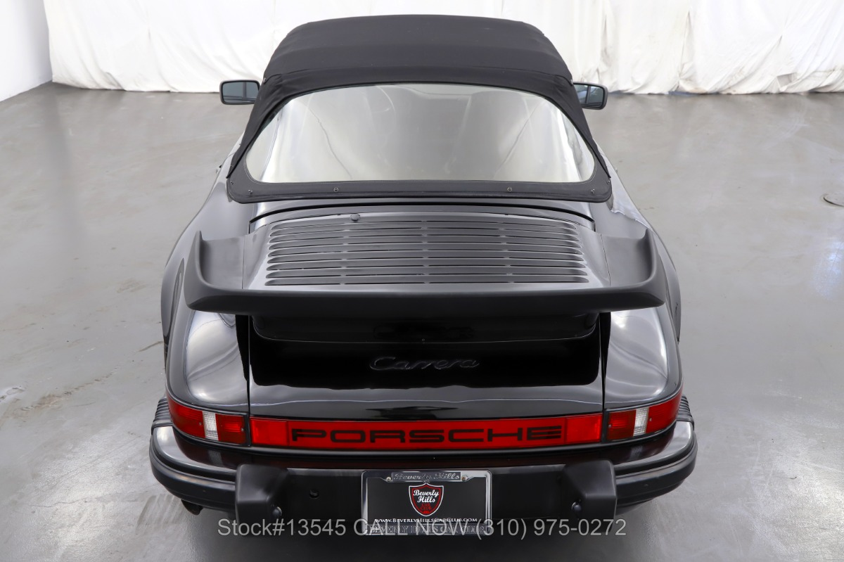 Used 1985 Porsche Carrera Cabriolet | Los Angeles, CA