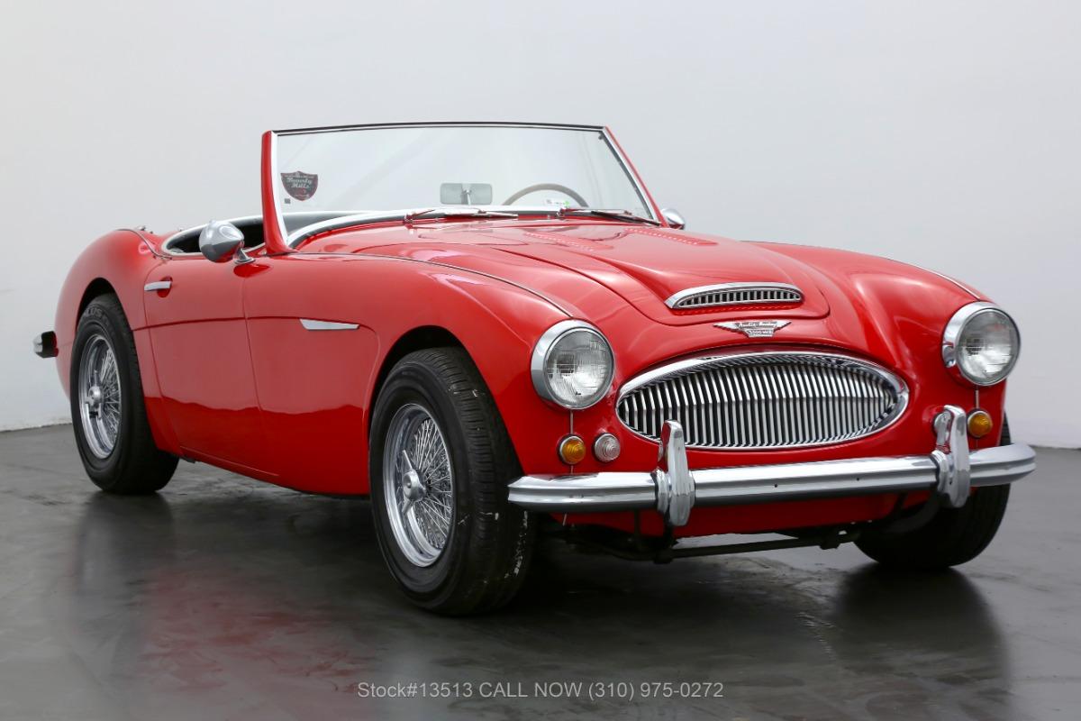 1962 Austin-Healey 3000 Convertible Sports Car