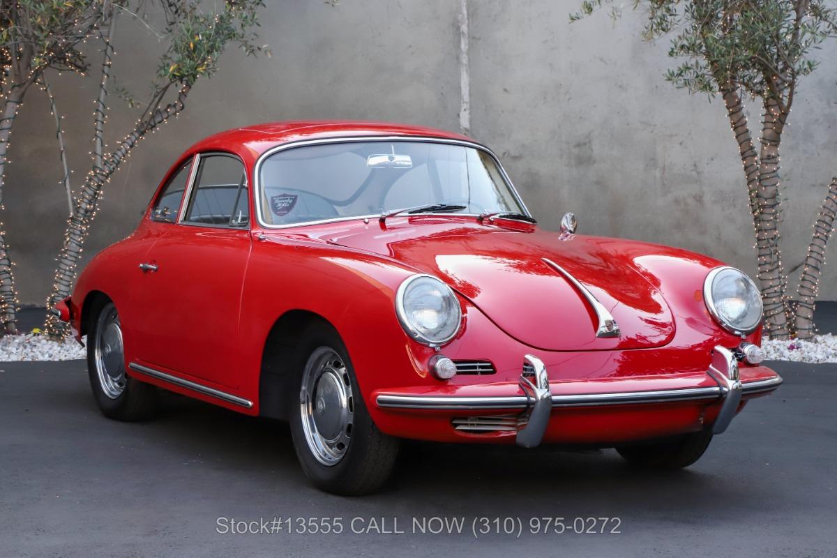 1964 Porsche 356C Factory Sunroof Coupe