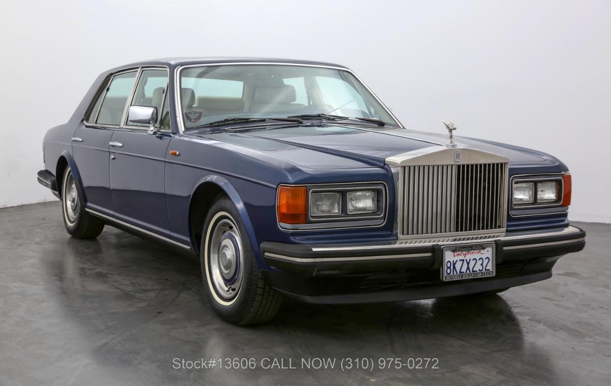 1989 Rolls Royce Silver Spirit