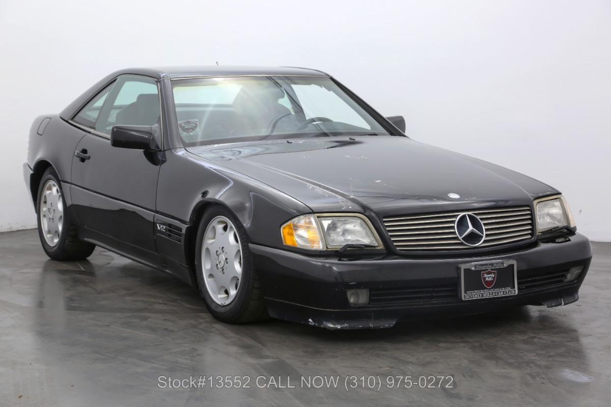 1995 Mercedes-Benz SL600 V12