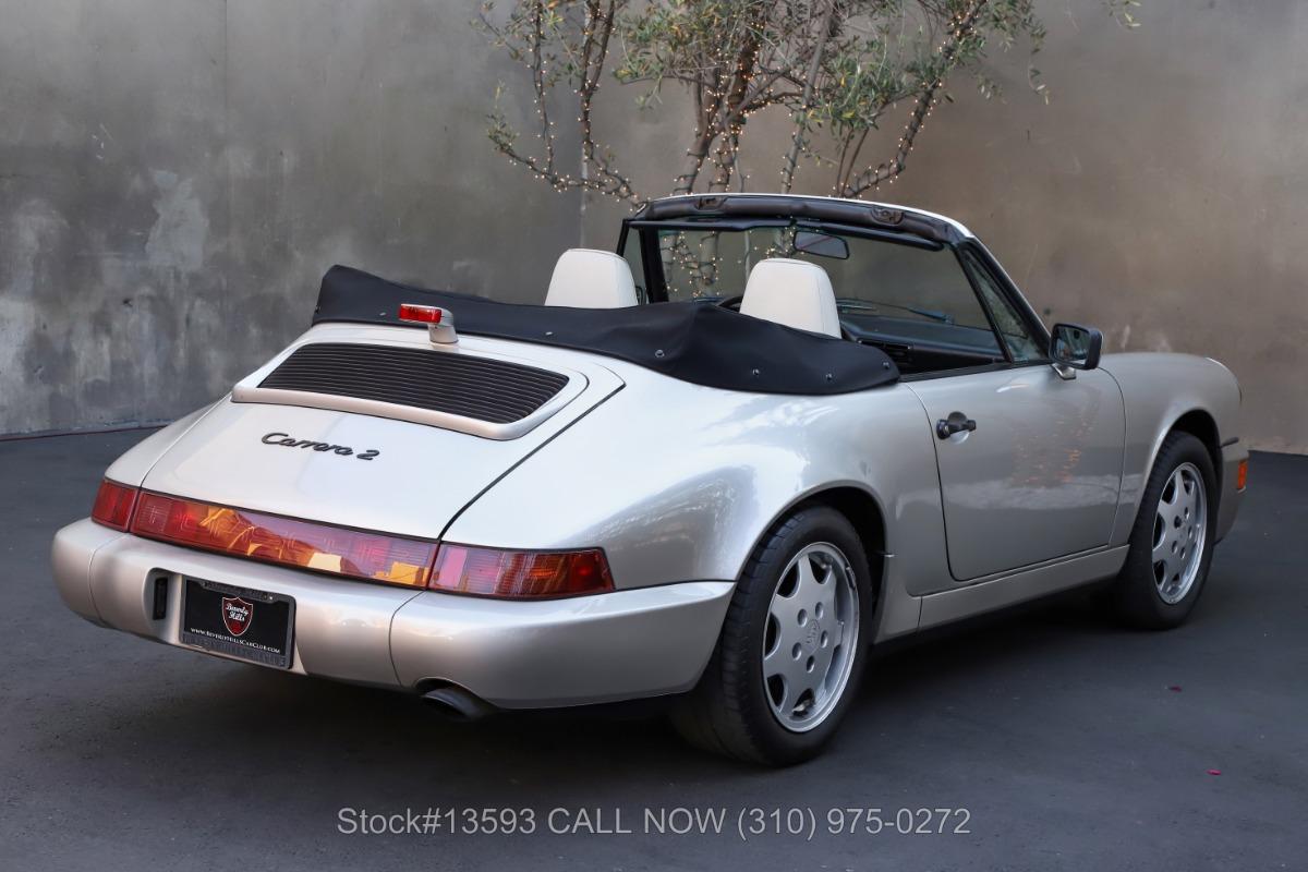 Used 1990 Porsche 964 Carrera 2 Cabriolet | Los Angeles, CA