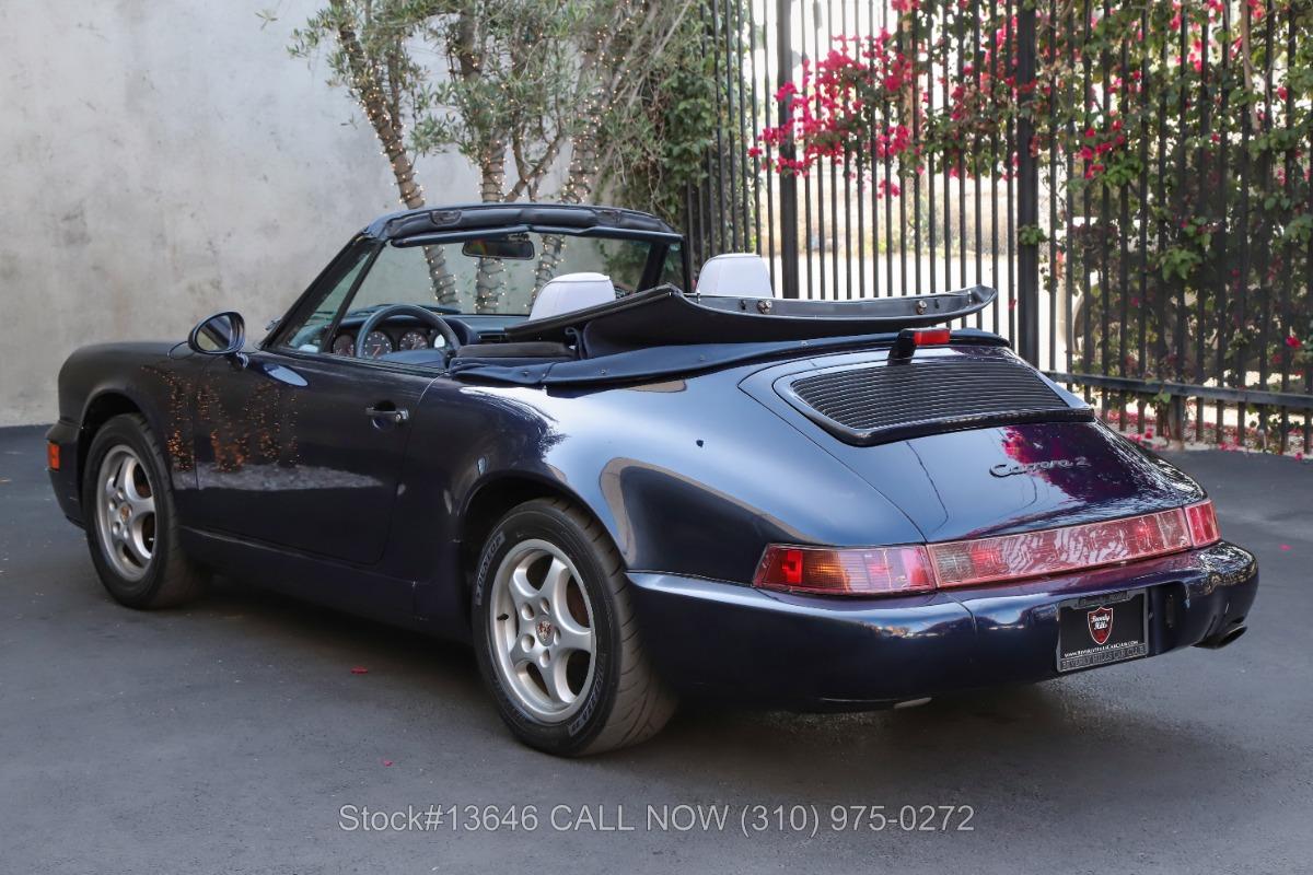 Used 1994 Porsche 964 Carrera 2 Cabriolet | Los Angeles, CA