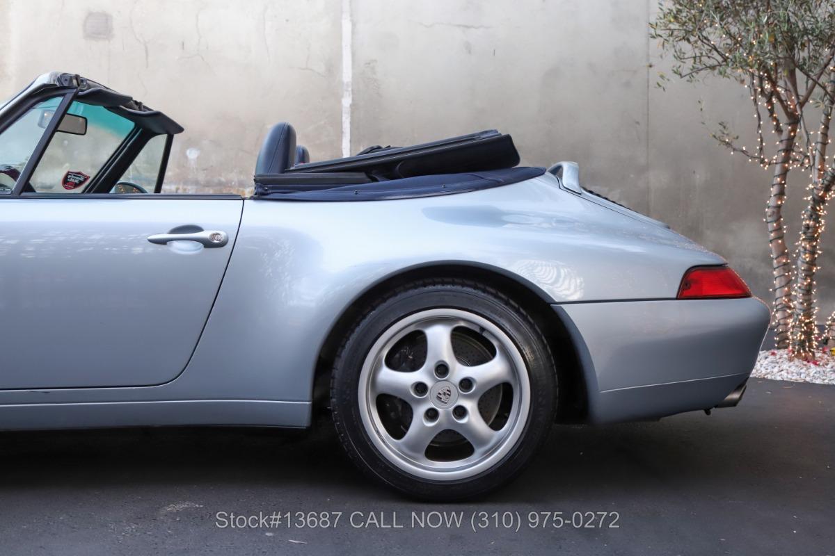 Used 1995 Porsche 993 Carrera Cabriolet | Los Angeles, CA
