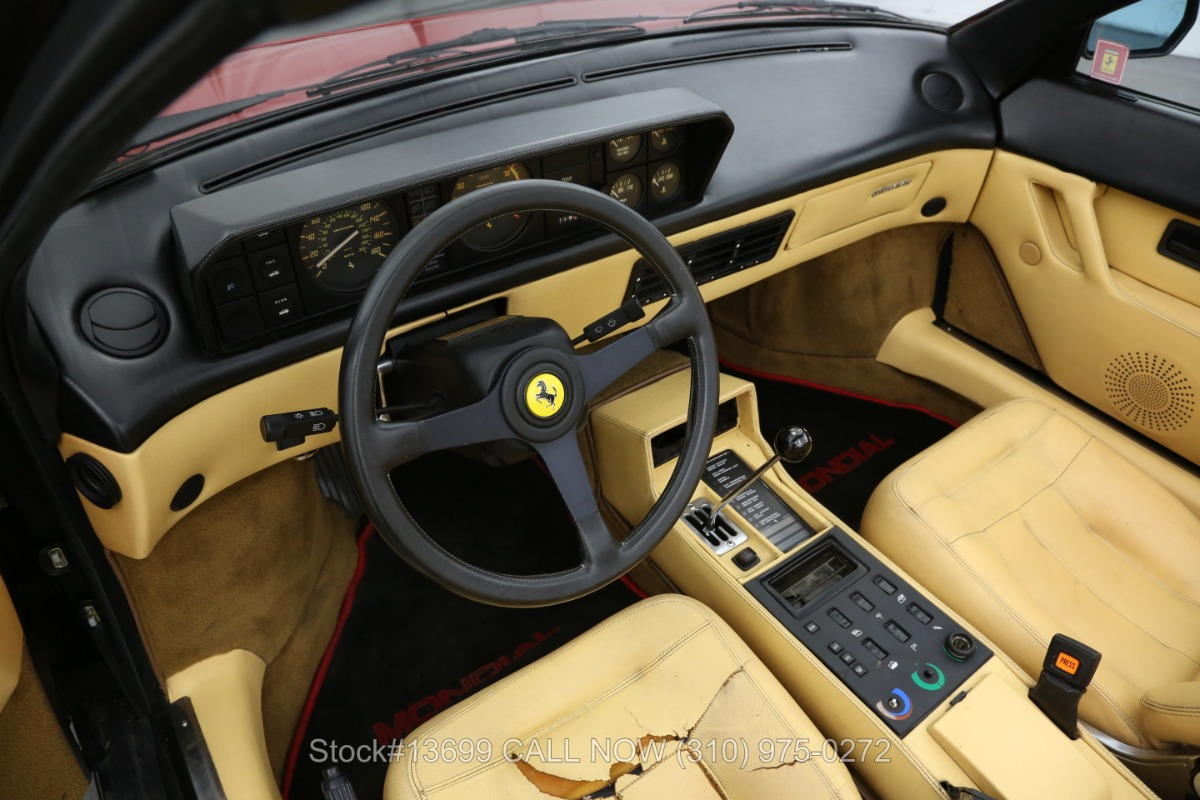 Used 1986 Ferrari Mondial 3.2 Cabriolet | Los Angeles, CA