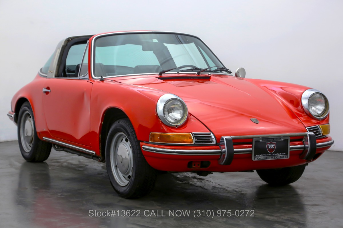 1969 Porsche 912 Long Wheel Base Targa