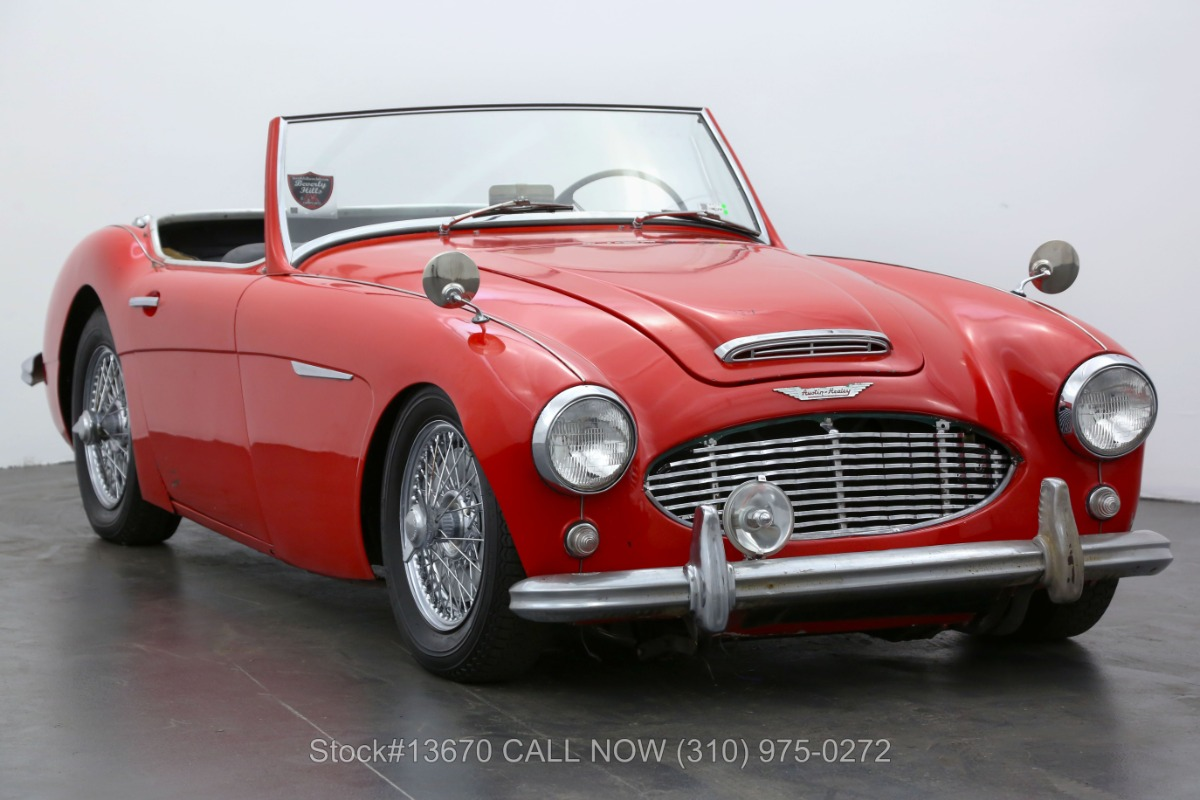 1959 Austin-Healey 100-6 BN4 Convertible Sports Car
