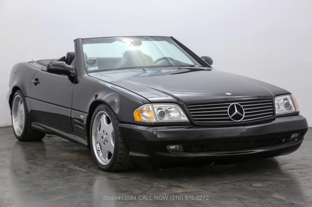 2001 Mercedes-Benz SL600 V12