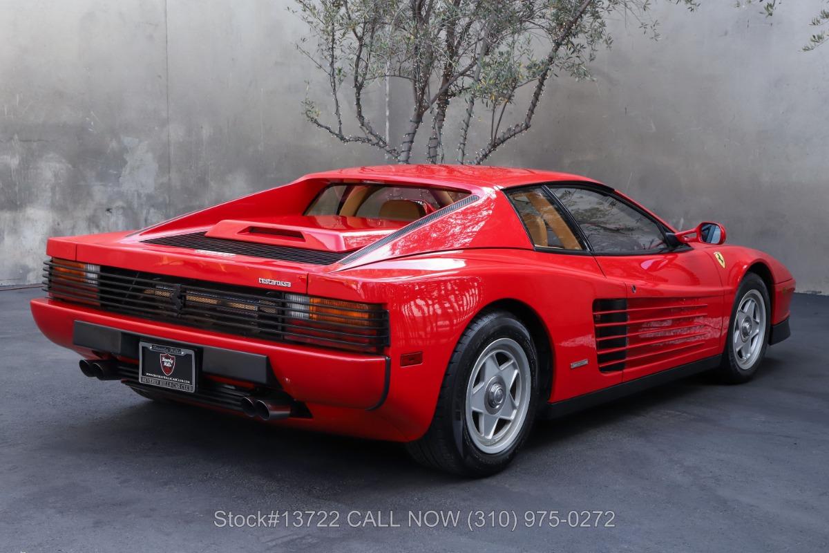 Used 1988 Ferrari Testarossa    Los Angeles, CA