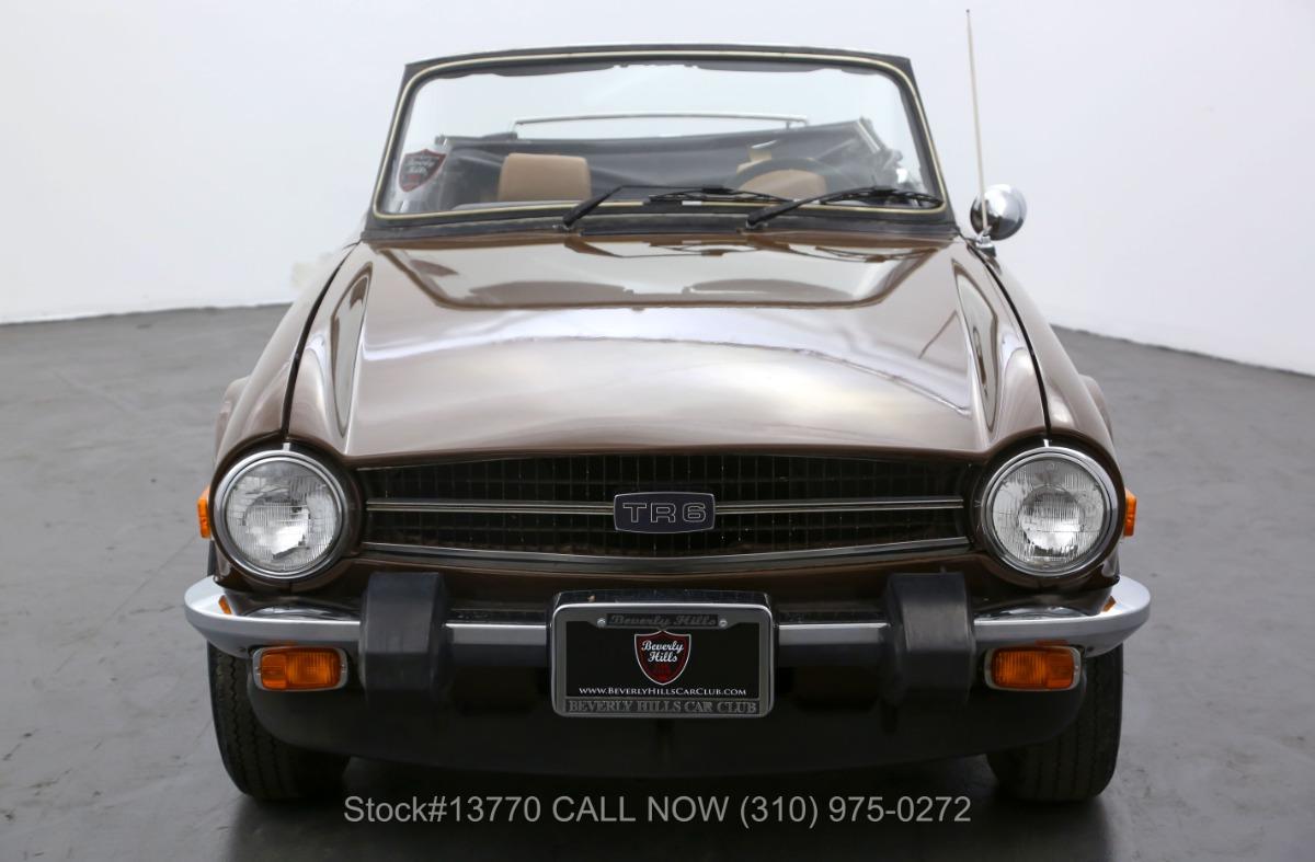 Used 1976 Triumph TR6    Los Angeles, CA