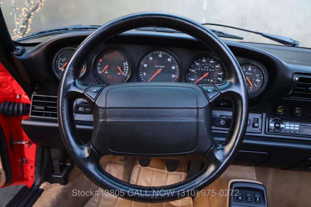 Used 1991 Porsche 964 Carrera 2 Cabriolet | Los Angeles, CA