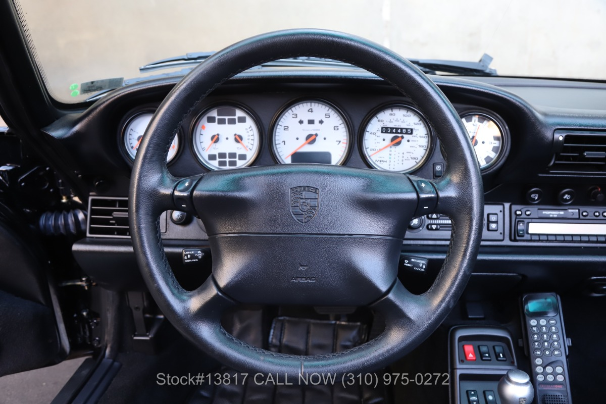 Used 1997 Porsche 993 Carrera Cabriolet   Los Angeles, CA