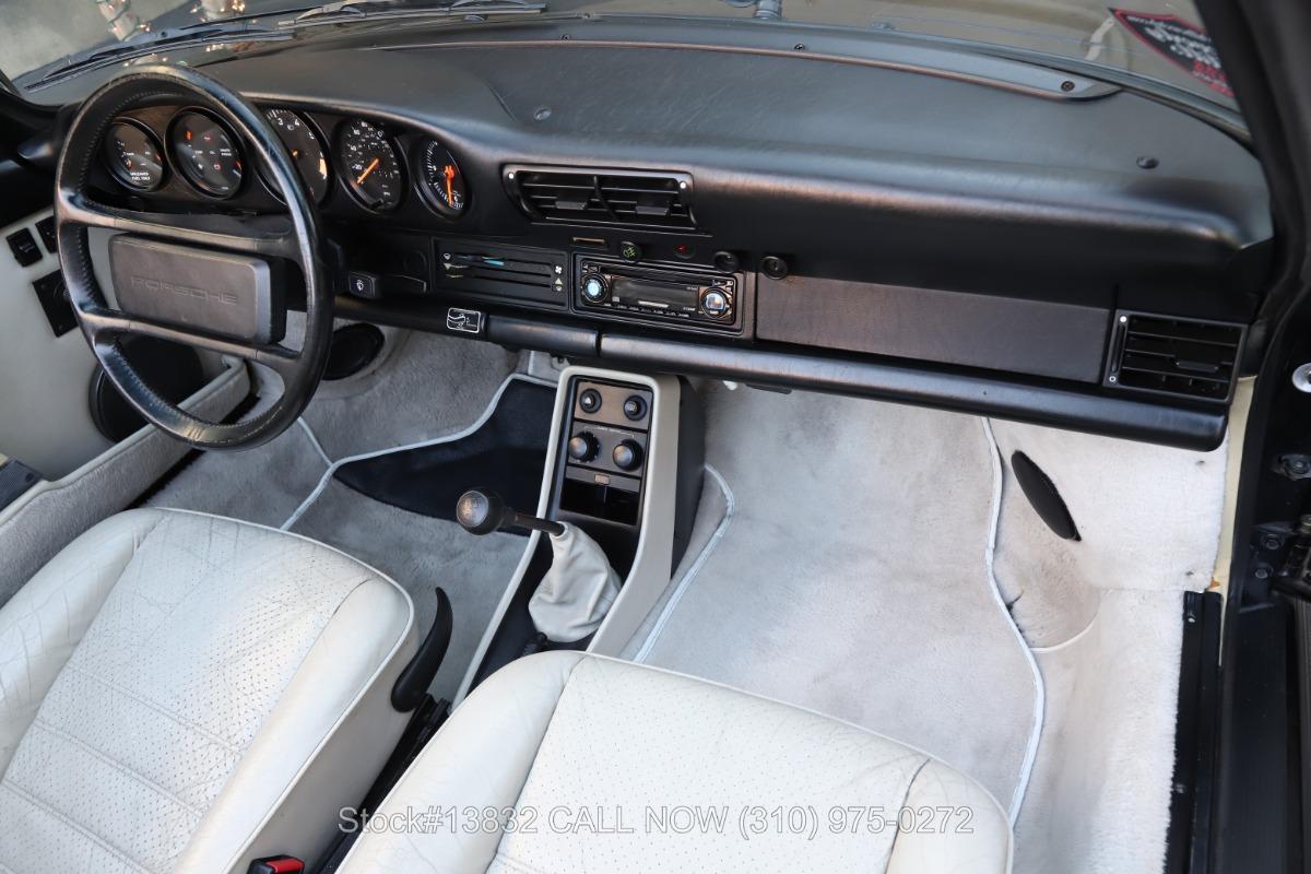 Used 1988 Porsche Carrera Cabriolet Turbo Look M491/M470 | Los Angeles, CA