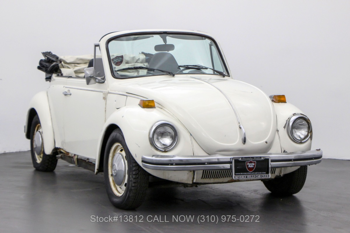 1973 Volkswagen Beetle Cabriolet