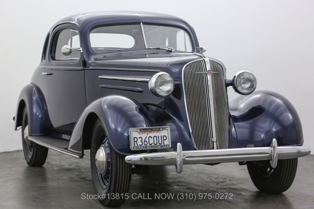 Used 1936 Chevrolet Master Deluxe 5 Window Business Coupe | Los Angeles, CA