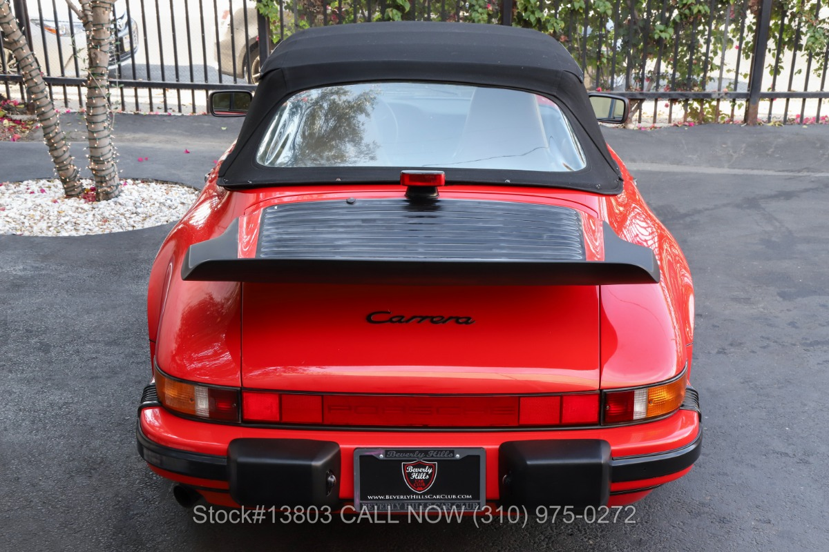 Used 1987 Porsche Carrera Cabriolet | Los Angeles, CA