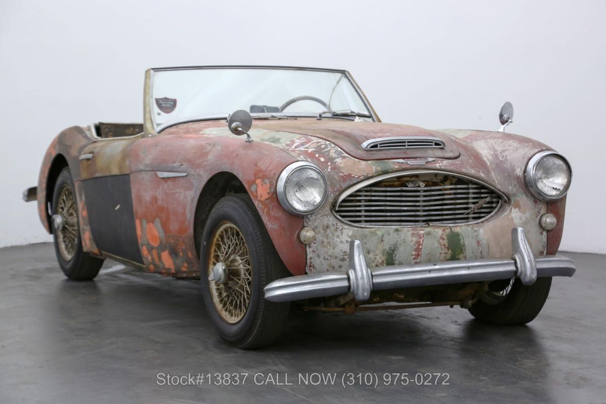 1962 Austin-Healey 3000 BT7 Convertible Sports Car