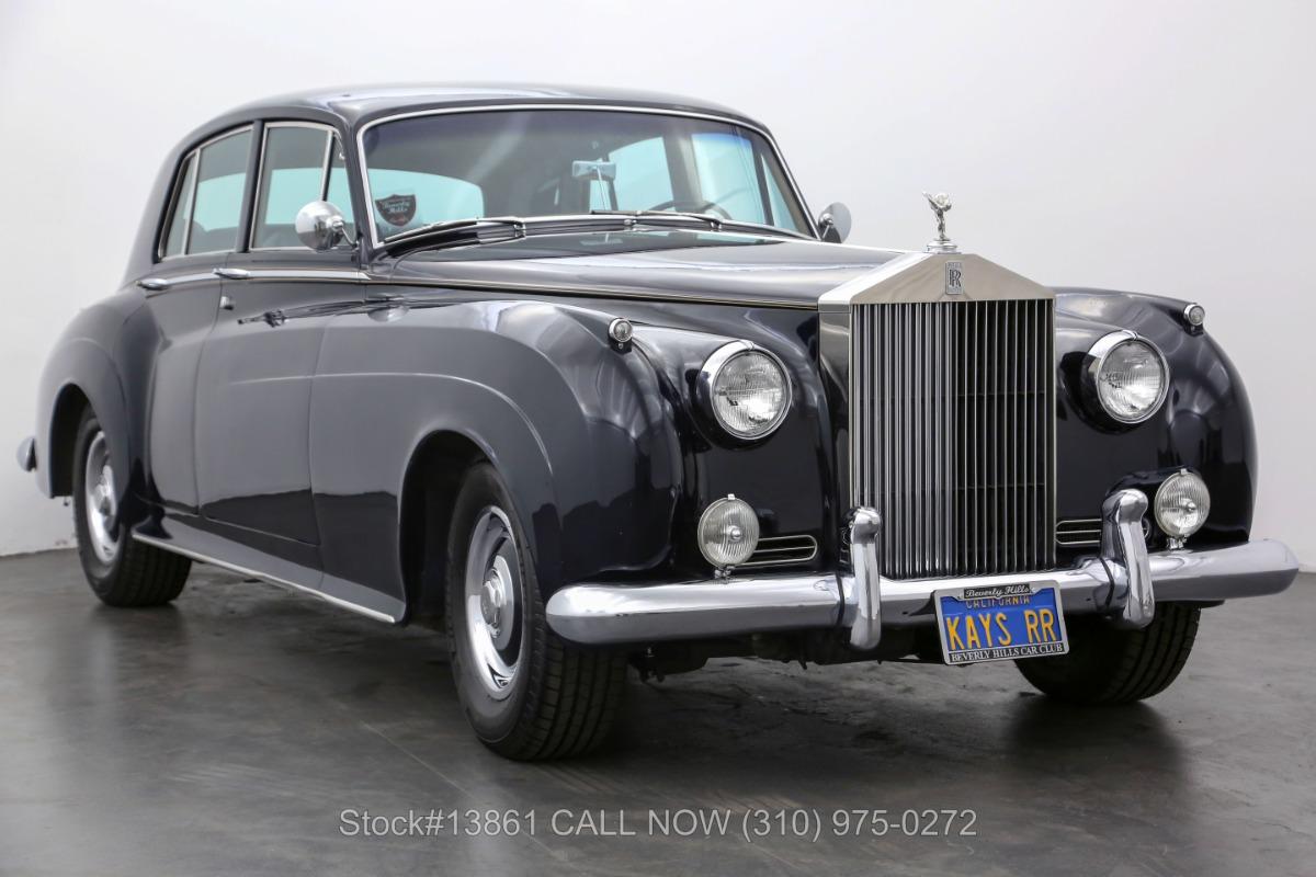 1961 Rolls-Royce Silver Cloud II Left-Hand Drive