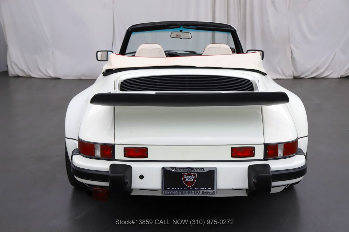 Used 1983 Porsche 911SC Cabriolet Slant Nose Conversion | Los Angeles, CA