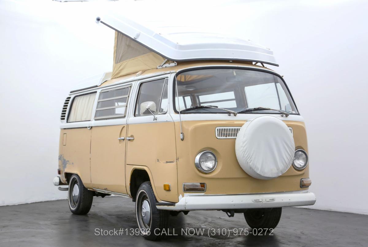 1972 Volkswagen Westfalia Camper Bus