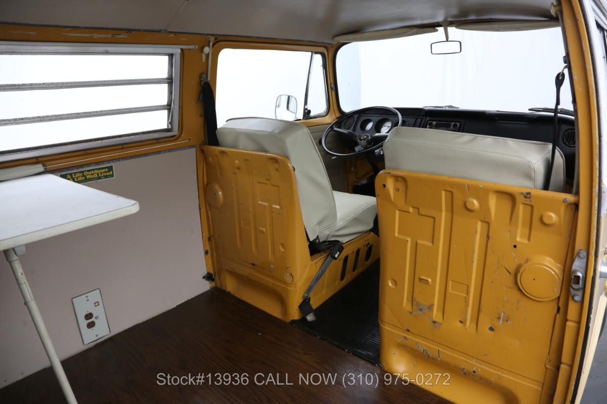 Used 1972 Volkswagen Westfalia Camper Bus   Los Angeles, CA