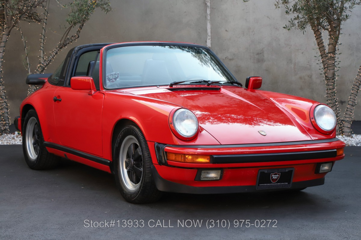 1988 Porsche Carrera Targa