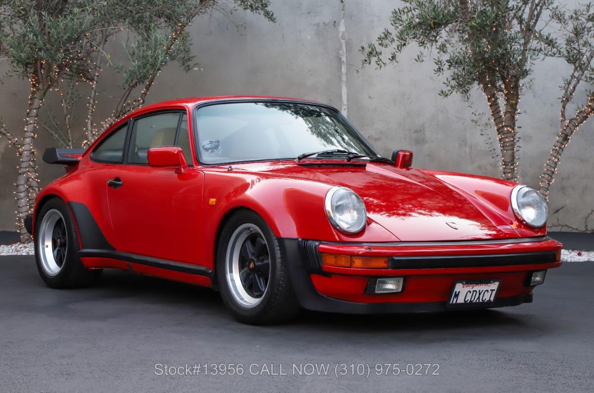 1984 Porsche Carrera Coupe Turbo Look M491