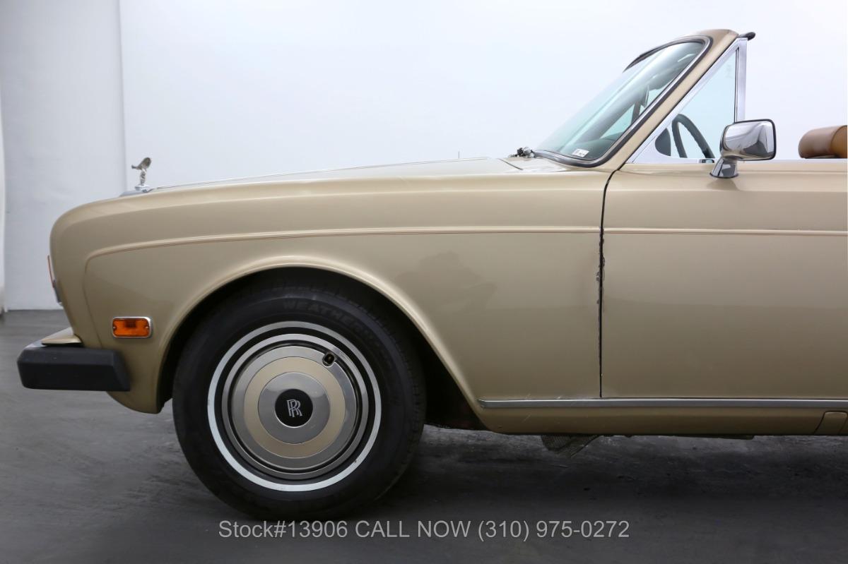 Used 1977 Rolls Royce Corniche Convertible | Los Angeles, CA