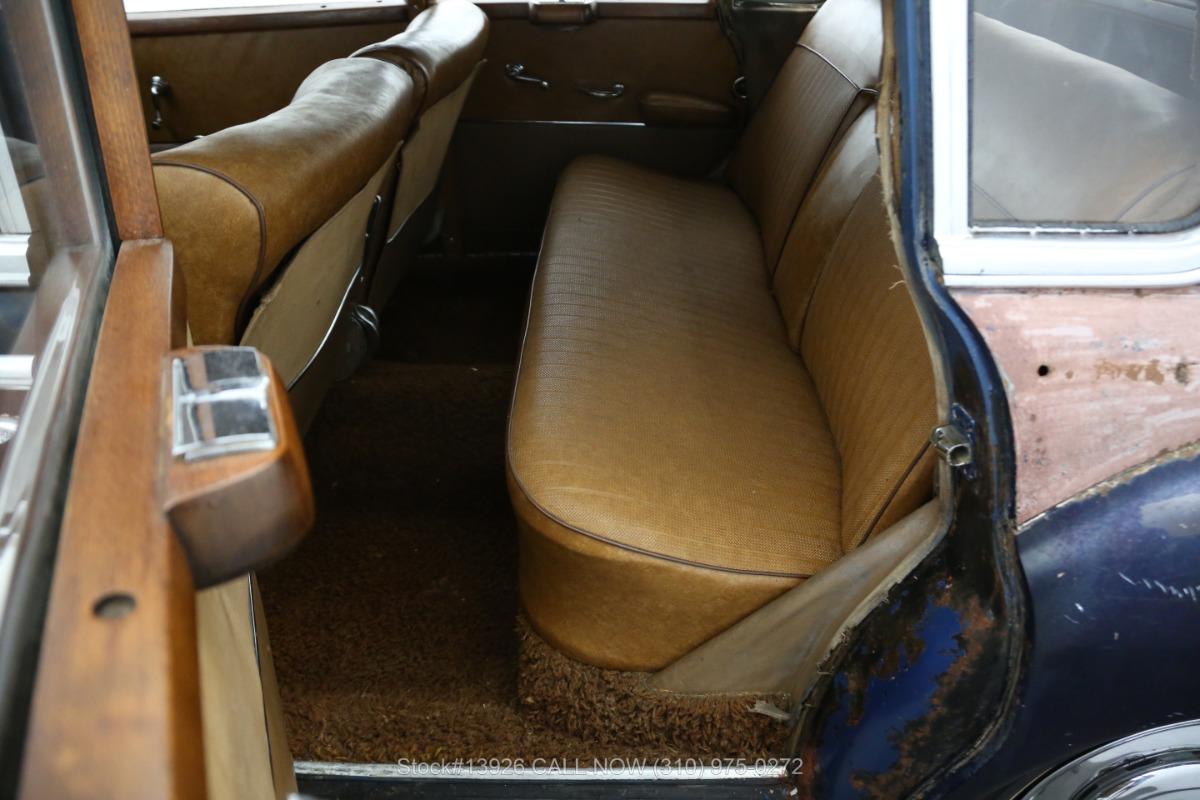 Used 1953 Mercedes-Benz 300B Adenauer | Los Angeles, CA