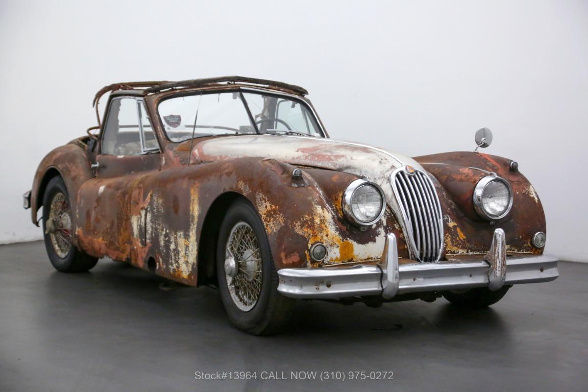 1955 Jaguar XK140MC Drophead Coupe